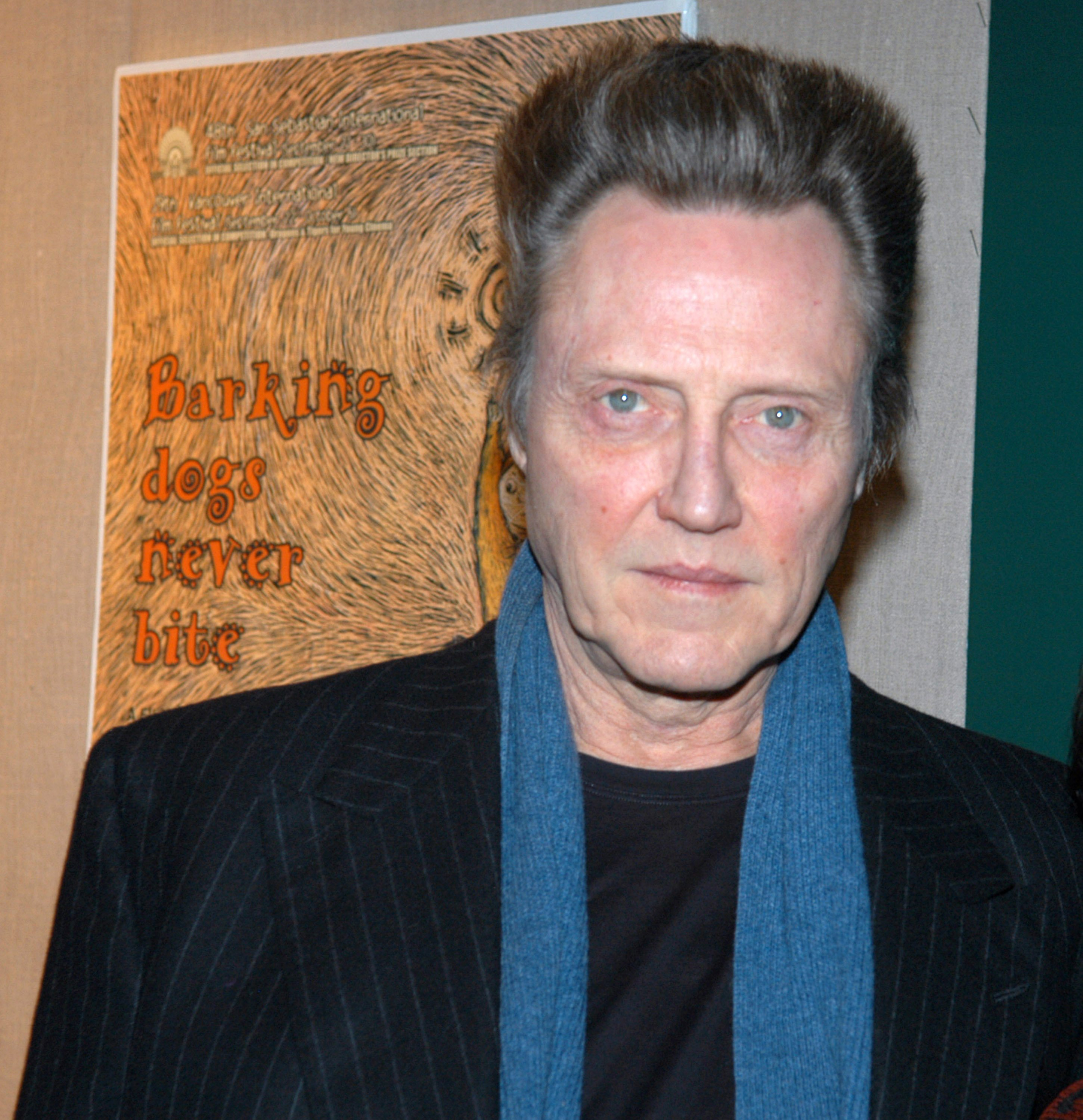 """Christopher Walken during The Film Society of Lincoln Center's Walter Reade Theater Presents """"Inventing Christopher Walken"""" at Walter Reade Theater in New York City, New York, United States.   Source: Getty Images"""
