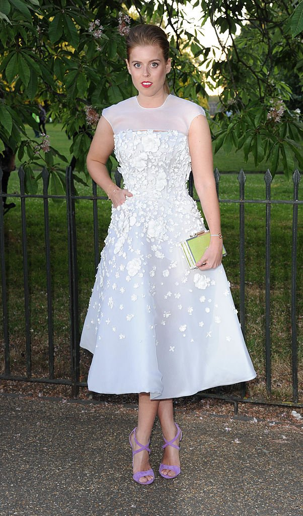Princess Beatrice at the annual Serpentine Galley Summer Party at The Serpentine Gallery on July 1, 2014, in London, England. | Source: Getty Images