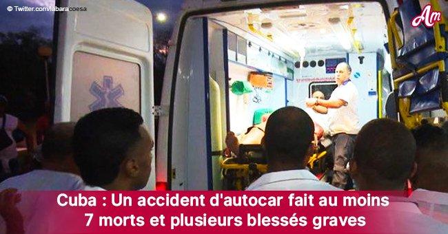 7 morts et 5 blessés graves après l'horrible accident d'un bus à Cuba