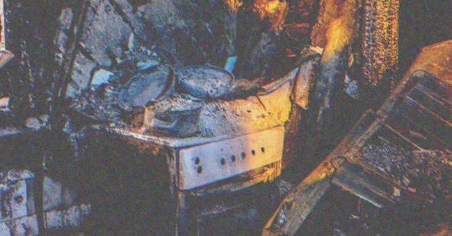 Man Returns to His Burnt House, Finds Something That Helps Save His Marriage – Story of the Day