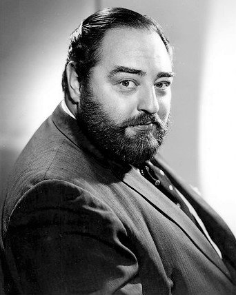 "Publicity photo of Sebastian Cabot from the short-lived television program ""Suspense"" 