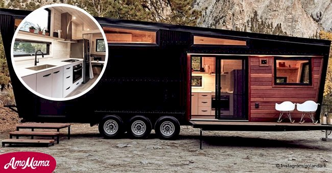 Couple create a stunning 300-square-foot home on wheels, and it's breathtaking