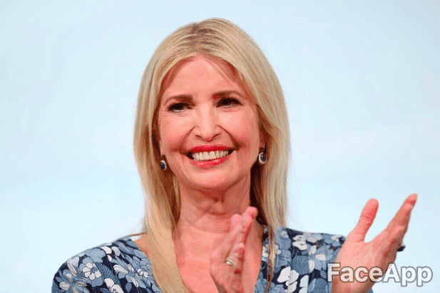 Ivanka Trump | Quelle: Getty Images / FaceApp