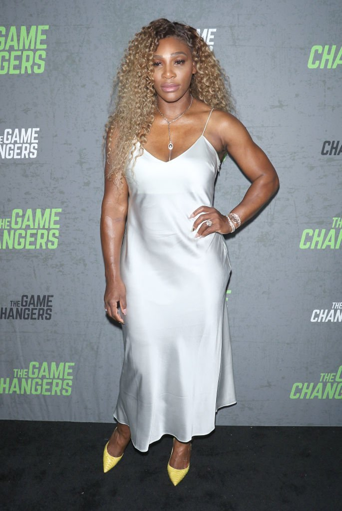 "Serena Williams at the ""The Game Changers"" New York premiere. 