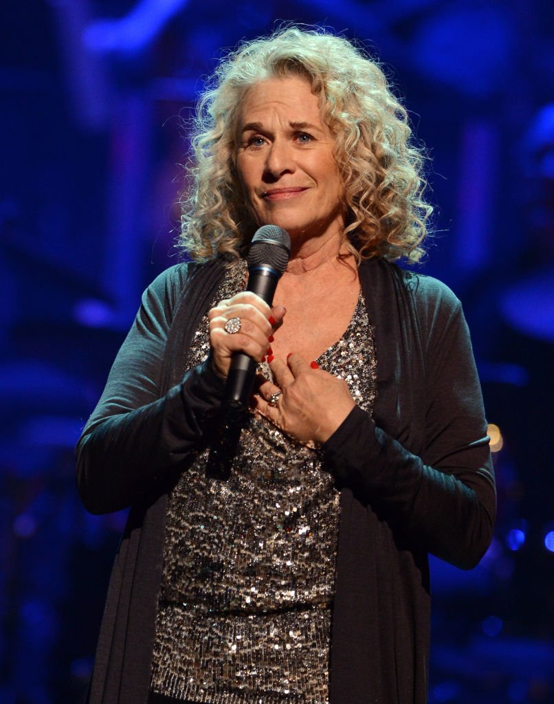 Singer/songwriter Carole King speaks during a celebration of Carole King and her music to benefit Paul Newman's The Painted Turtle Camp  | Getty Images