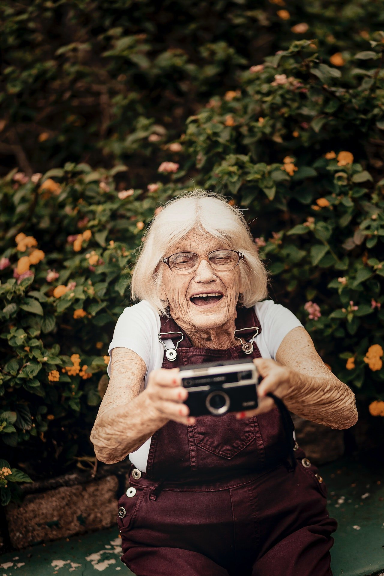 Photo of a happy old woman | Photo: Pexels