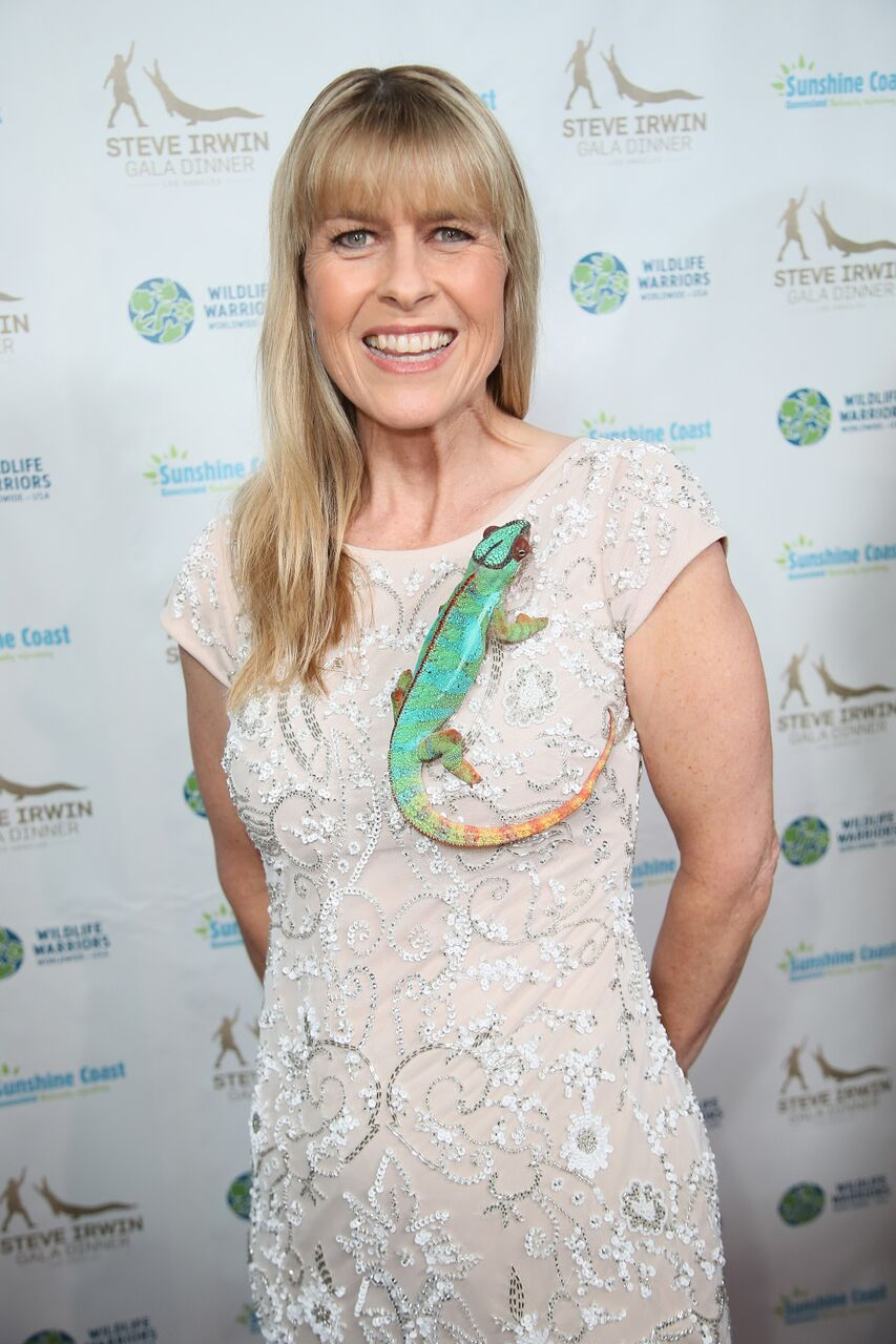 Terri Irwin attends the Steve Irwin Gala Dinner. | Source: Getty Images