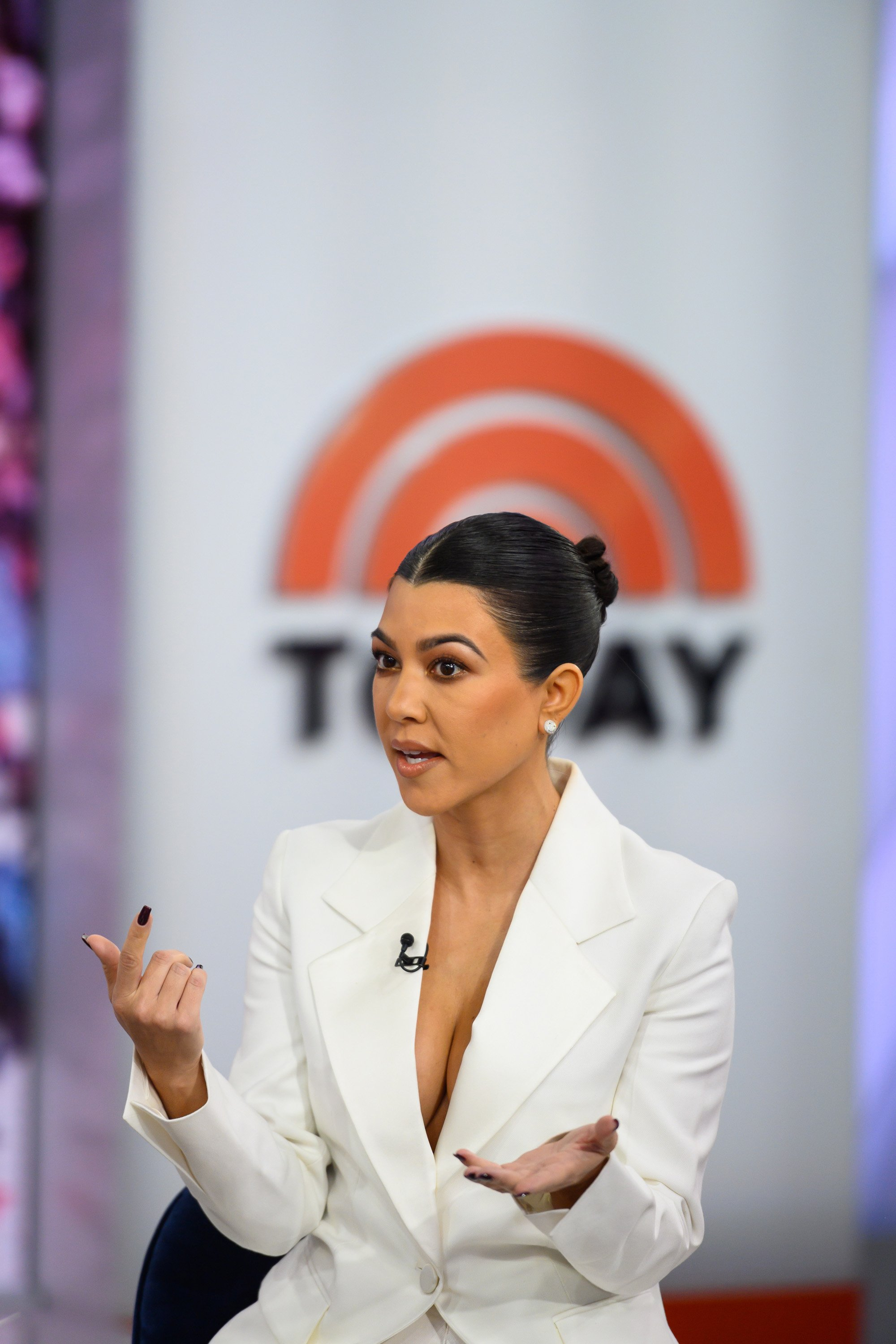 Kourtney Kardashian on the Today Show, February 7, 2019 | Photo: Getty Images