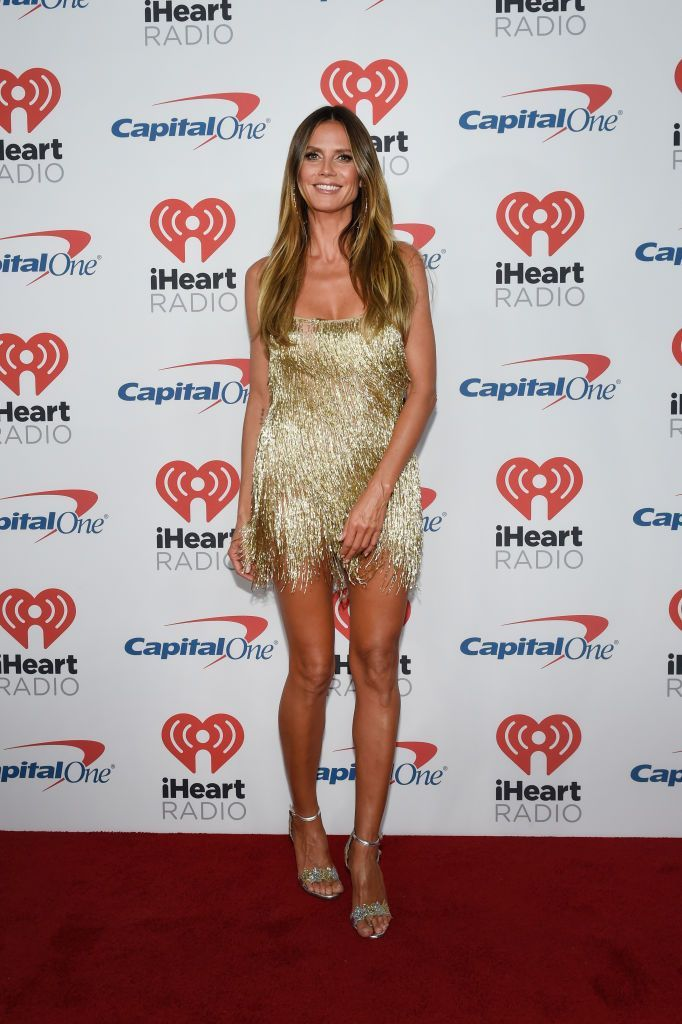 Heidi Klum at the iHeartRadio Music Festival at T-Mobile Arena on September 22, 2017, in Las Vegas, Nevada | Photo: David Becker/Getty Images