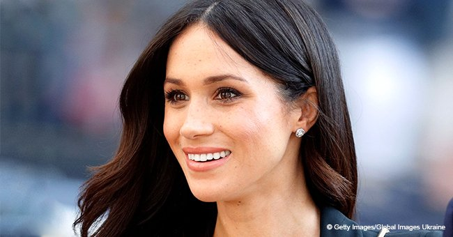 Meghan Markle flaunts enviable legs in tailored tuxedo minidress in pic with Prince Harry