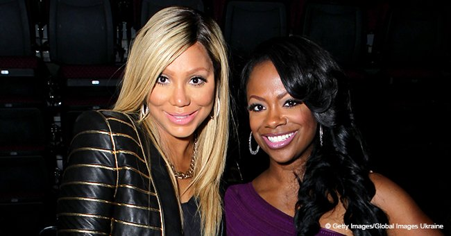 Kandi Burruss burst into tears while talking about renewed friendship with Tamar Braxton