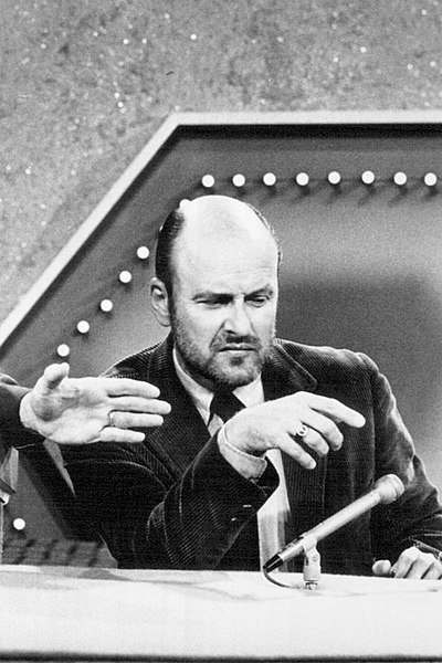 """Werner Klemperer on the television game show """"Password."""" 