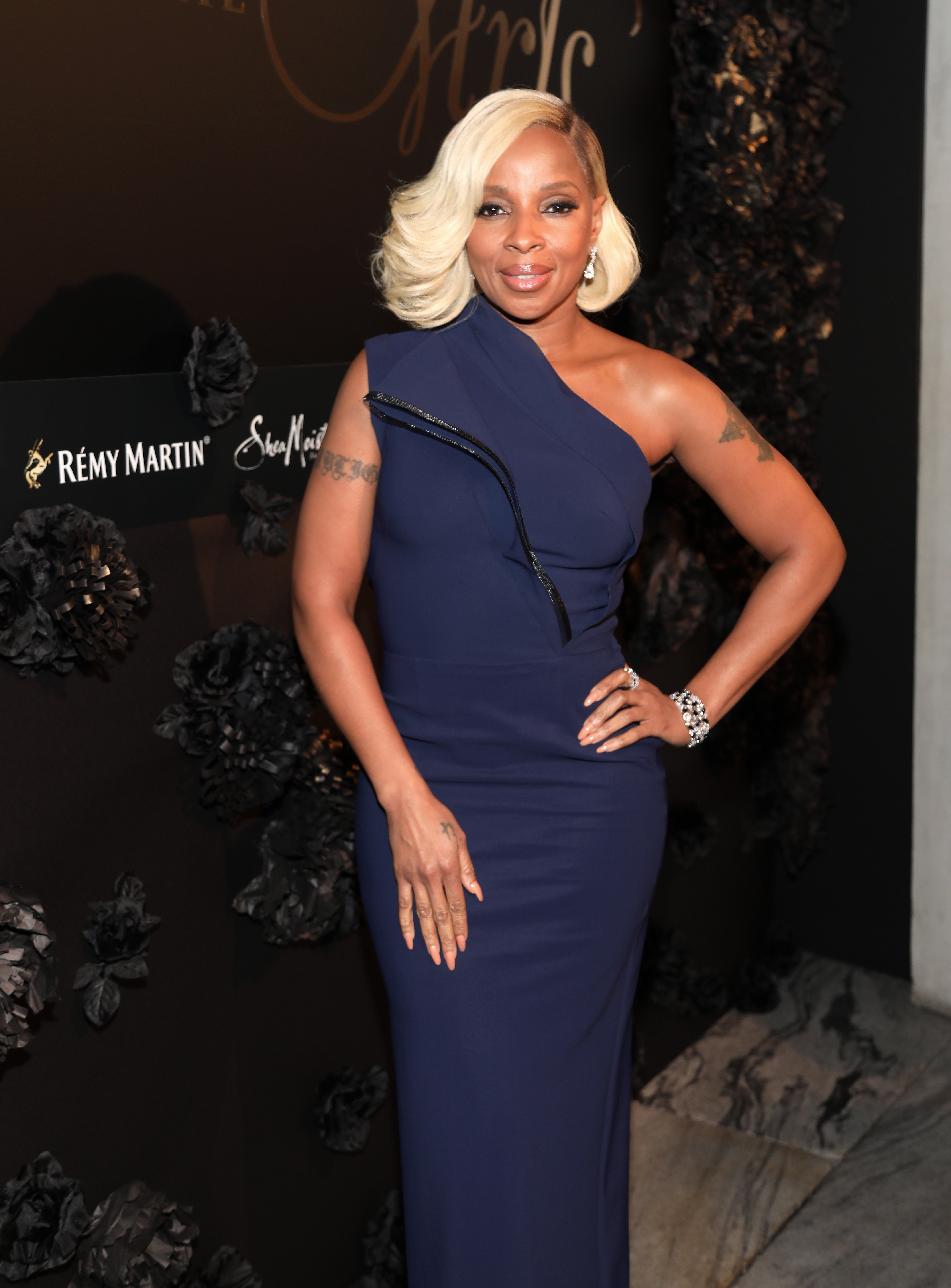 Mary J. Blige poses at Remy Martin's Toast To The Arts on March 2, 2018 in West Hollywood, California. | Source: Getty Images