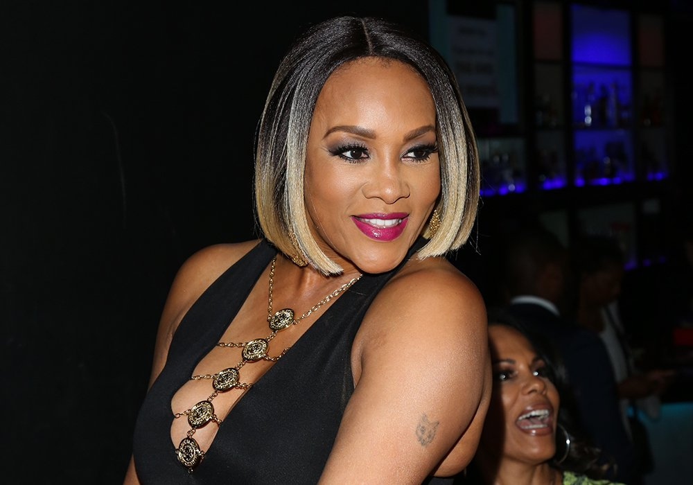 """Vivica A. Fox attends the release party for her new book """"Every Day I'm Hustling"""" at Rain Bar and Lounge on April 8, 2018 in Studio City, California. I Image: Getty Images."""