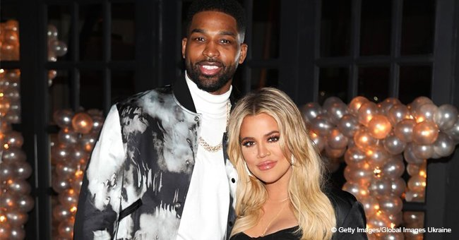 Tristan Thompson's mystery hotel woman reportedly identified after allegedly getting caught kissing