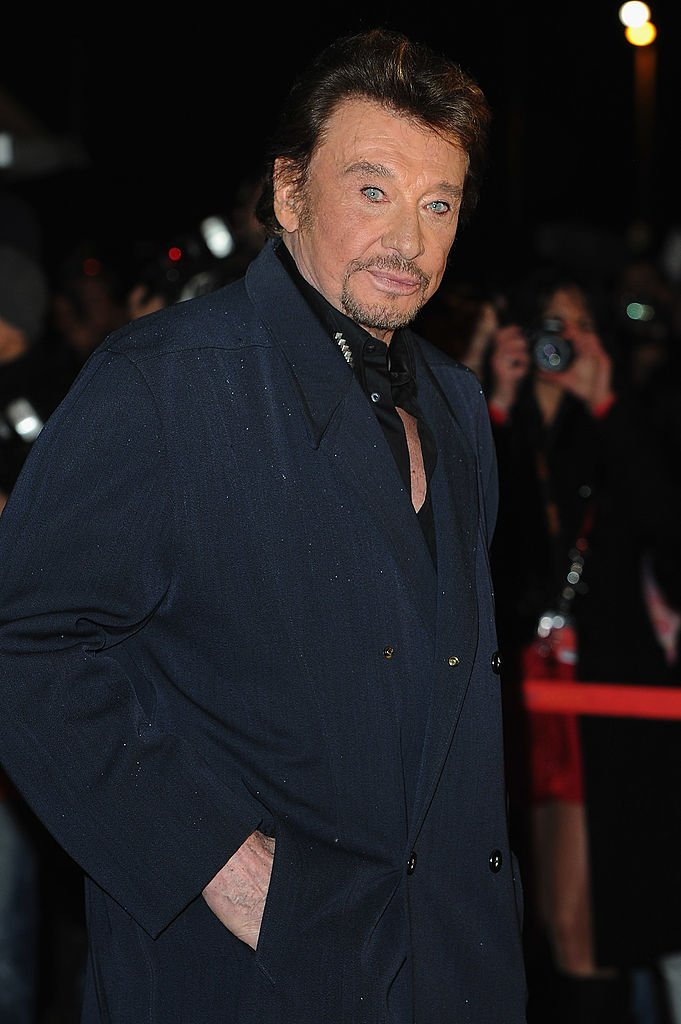 Le chanteur Johnny Hallyday. | Photo : Getty Images