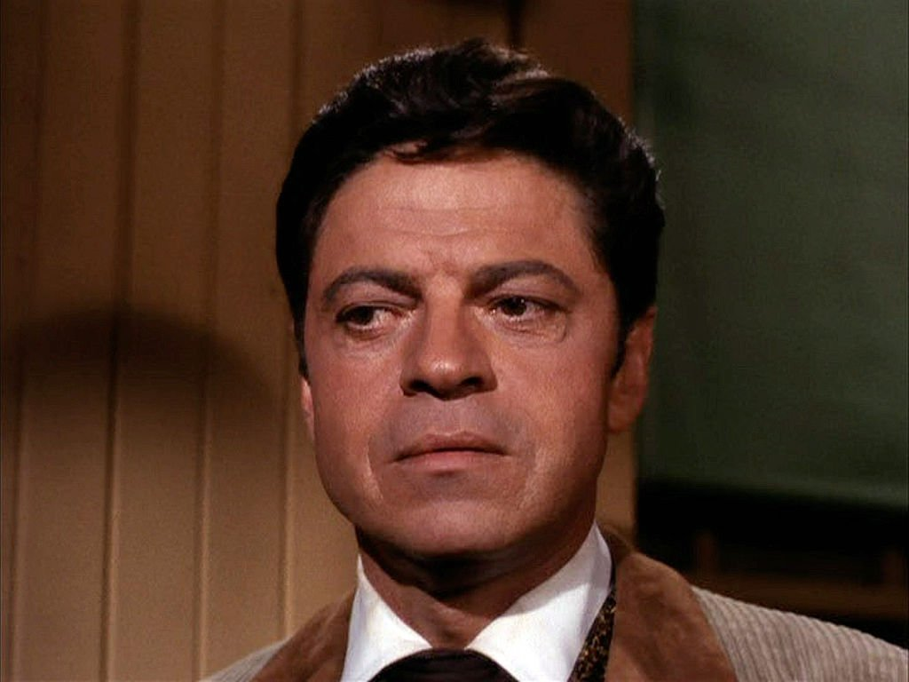 "Veteran actor Ross Martin on the 1966 episode of ""The Wild Wild West."" 