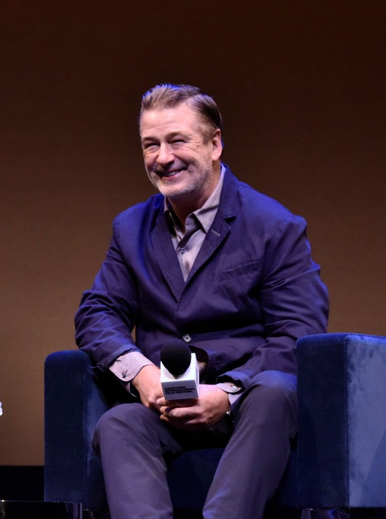 Alec Baldwin speaks onstage at A Conversion with Brian De Palma during the 2019 Hamptons International Film Festival  | Getty Images / Global Images Ukraine