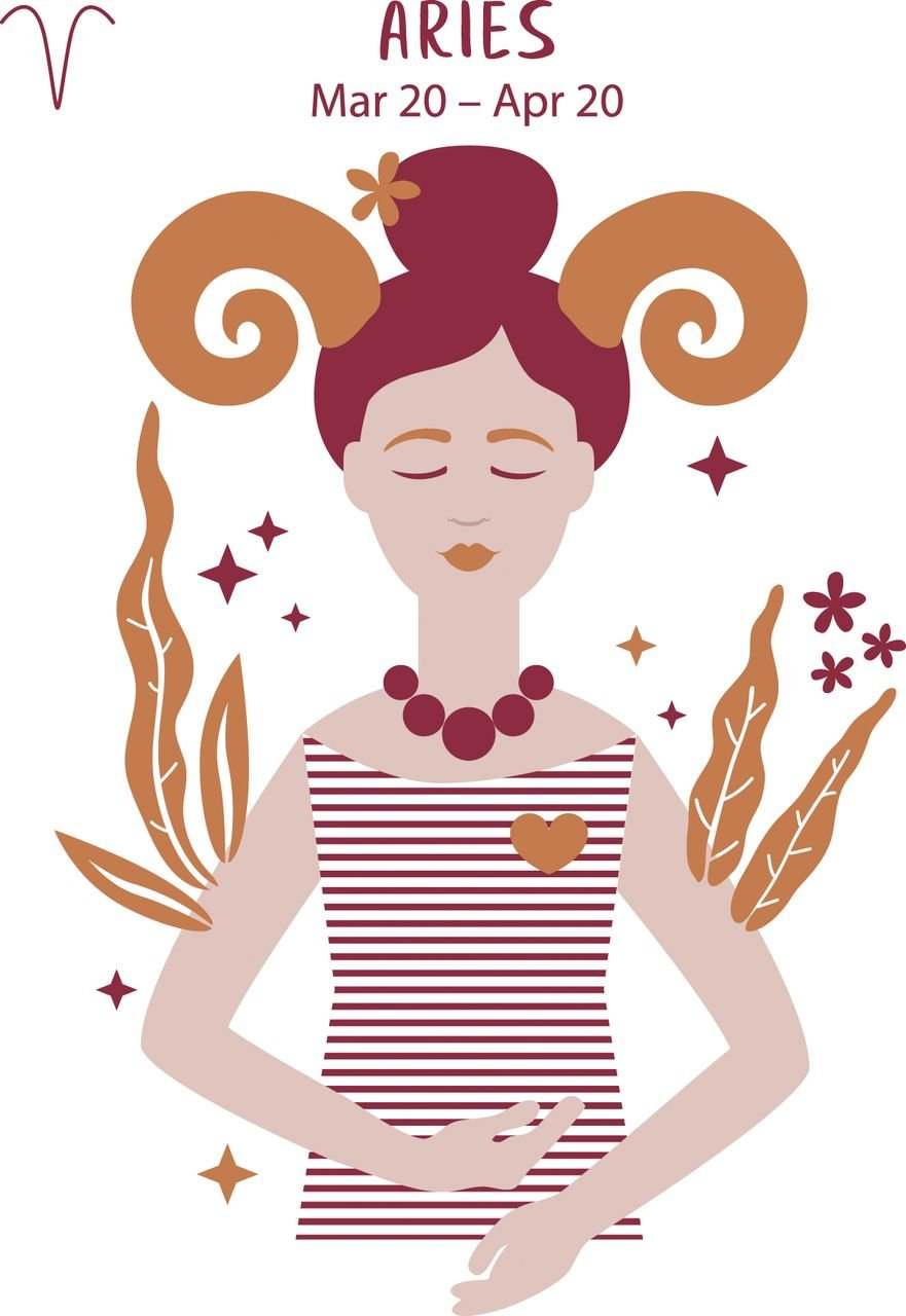 A feminine animation representing the star sign Aries   Photo: AmoMama