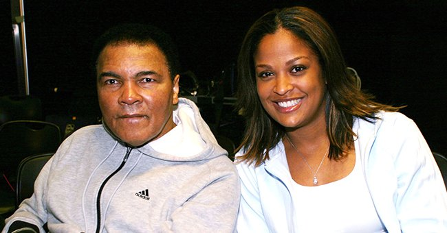 Laila Ali Proves Her Dad Muhammad & Son Curtis Look Alike with This Sweet Photo