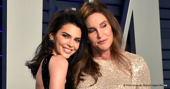 Kendall Jenner Attended Oscars' Afterparty with Her Parents, but Possibly without Any Underwear
