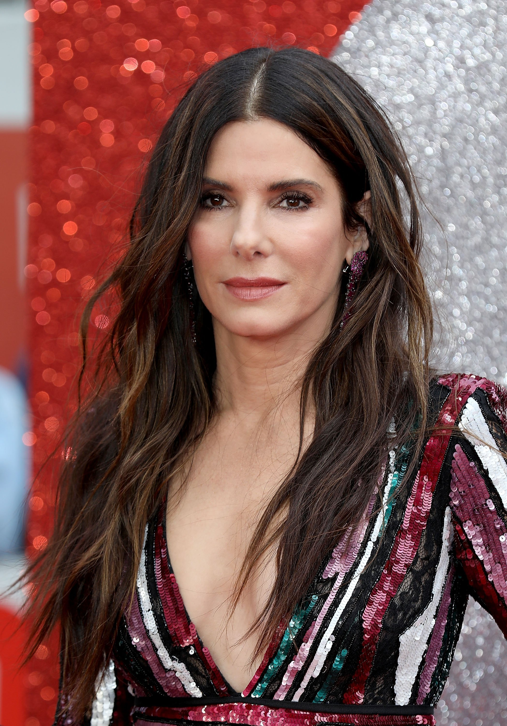 Sandra Bullock attends the 'Ocean's 8' UK Premiere held at Cineworld Leicester Square on June 13, 2018 | Photo: GettyImages