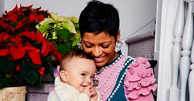 Tamron Hall Shares a Black and White Childhood Photo — Does She Look like Her Son Moses?