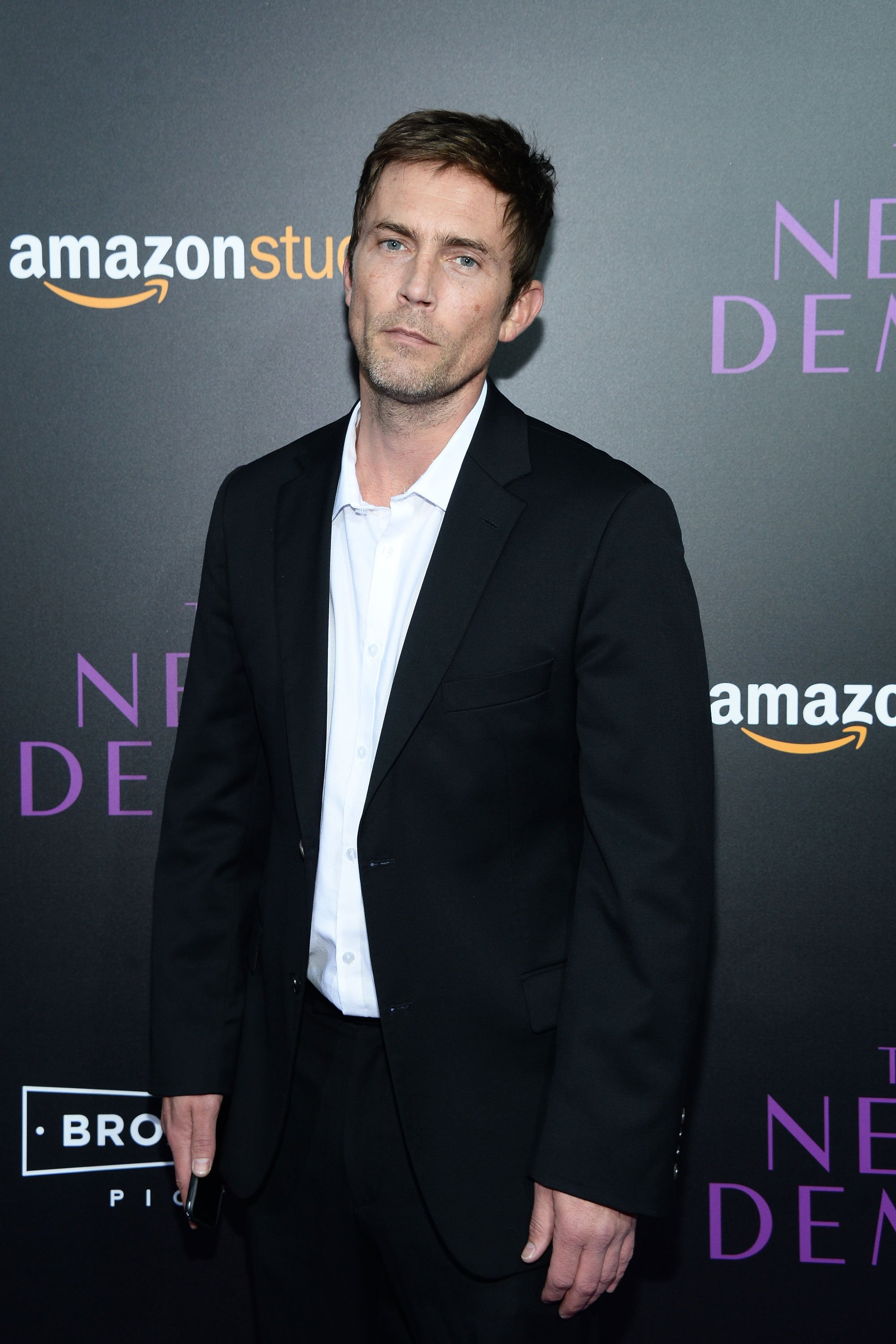 "Desmond Harrington attends the premiere of Amazon's ""The Neon Demon"" at ArcLight Cinemas Cinerama Dome on June 14, 2016, in Hollywood, California. 
