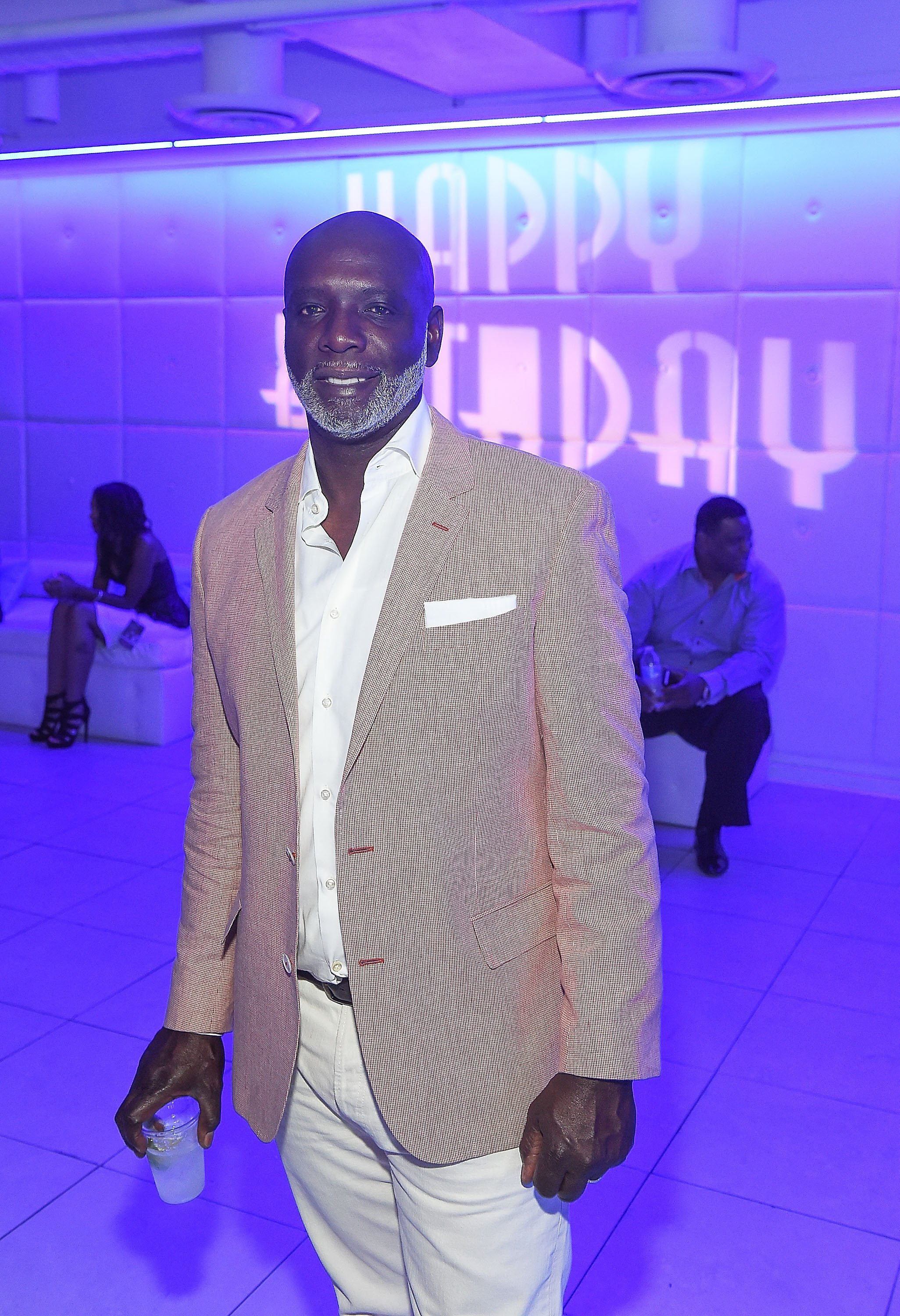 Peter Thomas at the birthday of Keith Sweat in Georgia in July 2014. | Photo: Getty Images