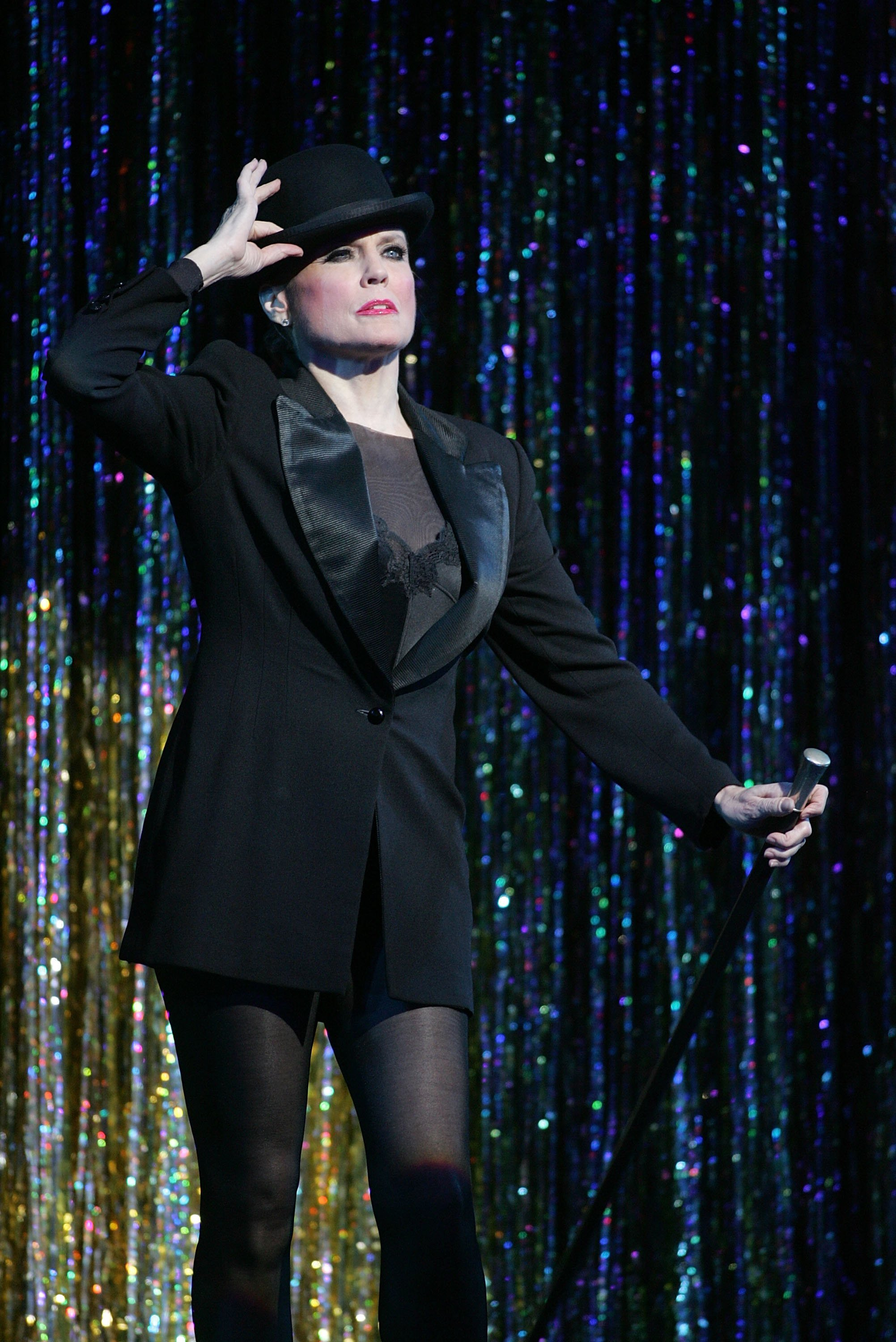 """Ann Reinking performs in """"Chicago"""" on November 14, 2006, in New York City. 