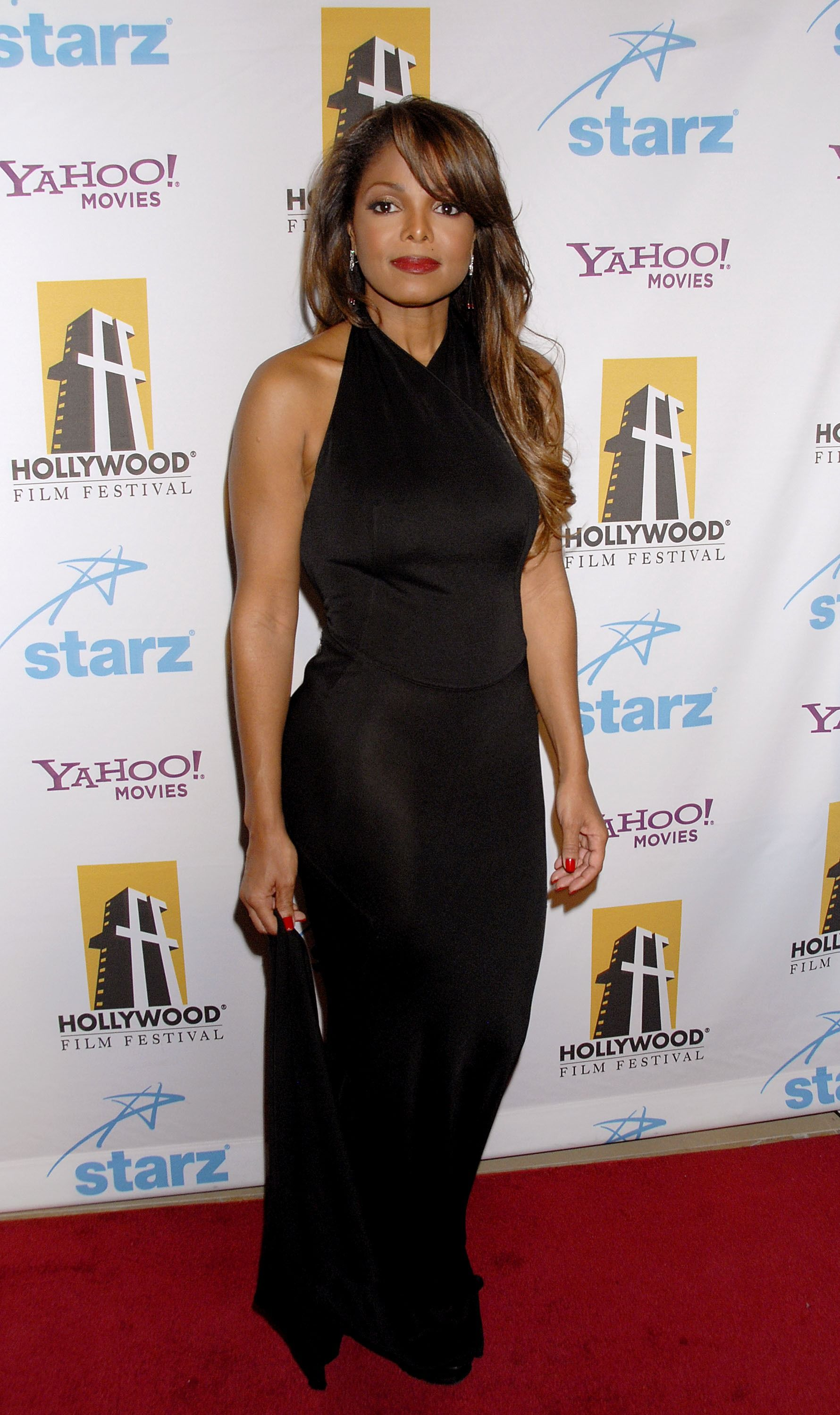 Janet Jackson during the 11th Annual Hollywood Awards held at the Beverly Hilton Hotel on October 22, 2007 in Los Angeles, California. | Source: Getty Images