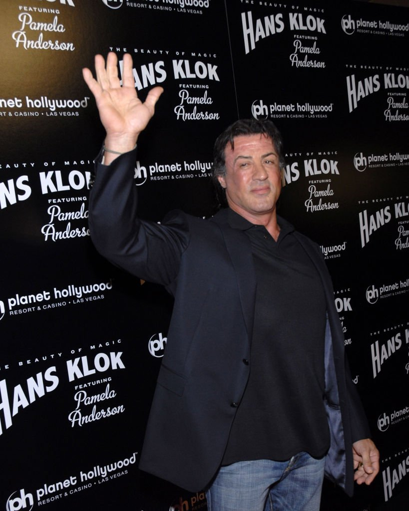"""Sylvester Stallone at Hans Klok & Pamela Anderson in """"The Beauty of Magic"""" Celebrate Opening Night, Nevada, Las Vegas. 