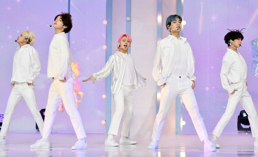 TXT performs at TXT's New Album 'Minisode 1 : Blue Hour' Media Showcase, October 2020 | Source: Getty Images