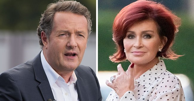 Piers Morgan Slams CBS after Sharon Osbourne Is Forced to Leave 'The Talk'