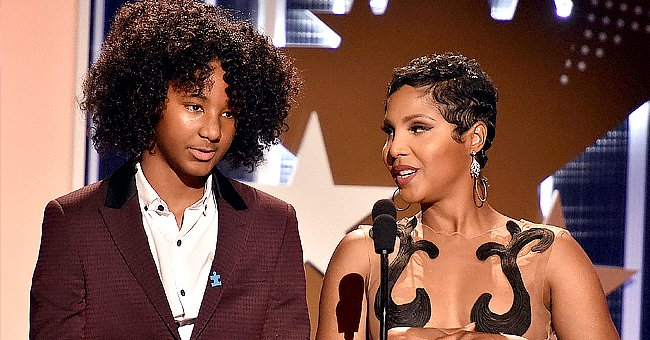 Toni Braxton's Younger Son Diezel Proves He Is a Carbon Copy of His Mom in New Close-up Photo