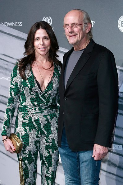 Lisa Loiacono and Christopher Lloyd attend The British Independent Film Awards at Old Billingsgate Market on December 4, 2016 in London, England | Photo: Getty Images