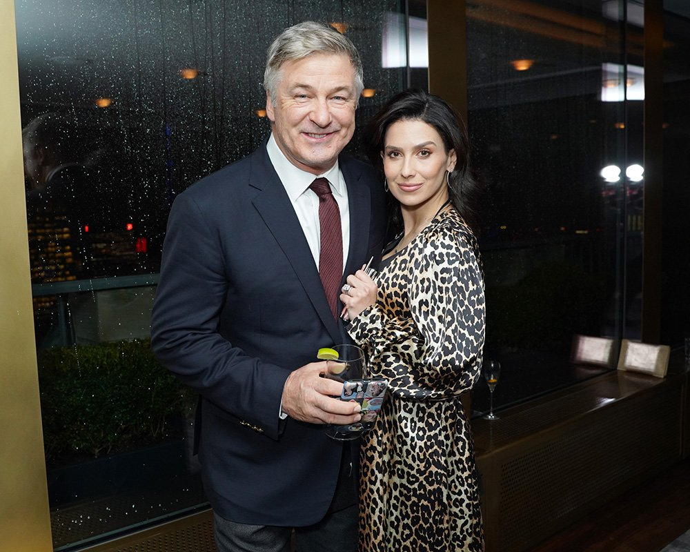 Alec and Hilaria Baldwin attend Guild Hall Academy Of The Arts Achievement Awards at the Rainbow Room in New York City in March 2020. I Image: Getty Images.