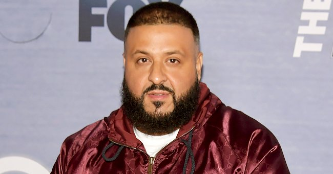 DJ Khaled's Son Aalam Looks Stylish in Jordan Sneakers with a 'We The Best' Shirt & Red Pants