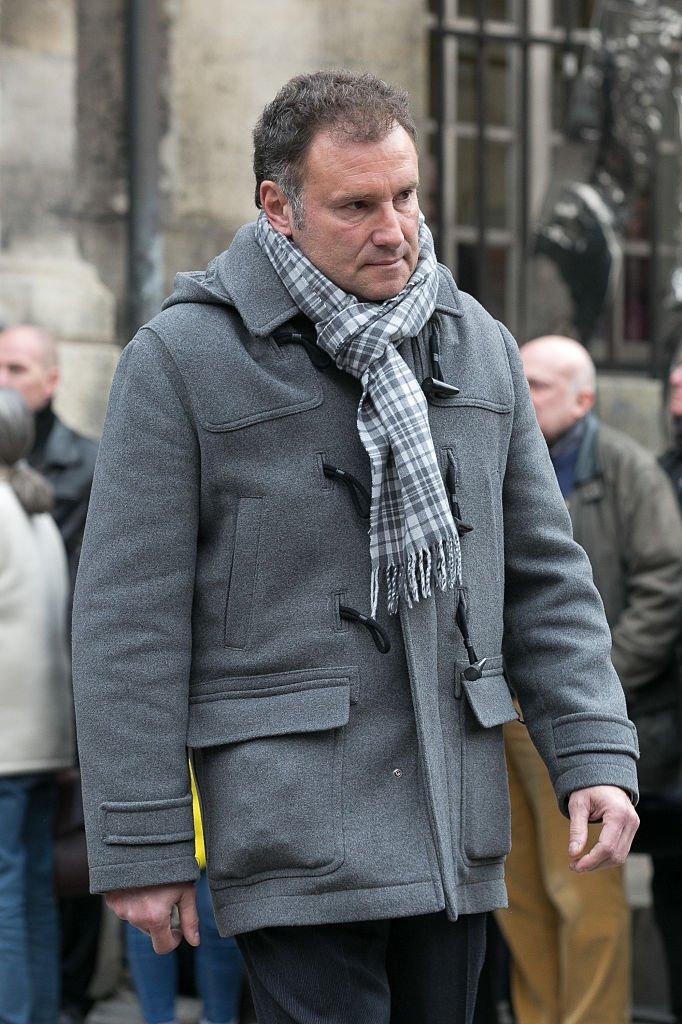 Le journaliste Pierre Sled. l Source : Getty Images