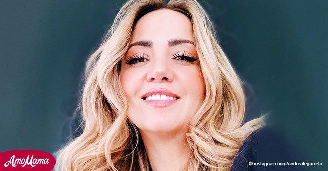 """Andrea Legarreta confiesa que ella también """"pertenece"""" a su compañero, y no sólo a su marido"""