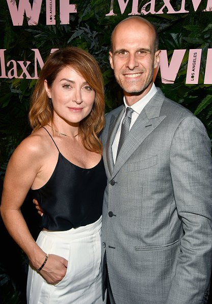 Sasha Alexander and Edoardo Ponti at Chateau Marmont on June 12, 2018 in Los Angeles, California. | Photo: Getty Images
