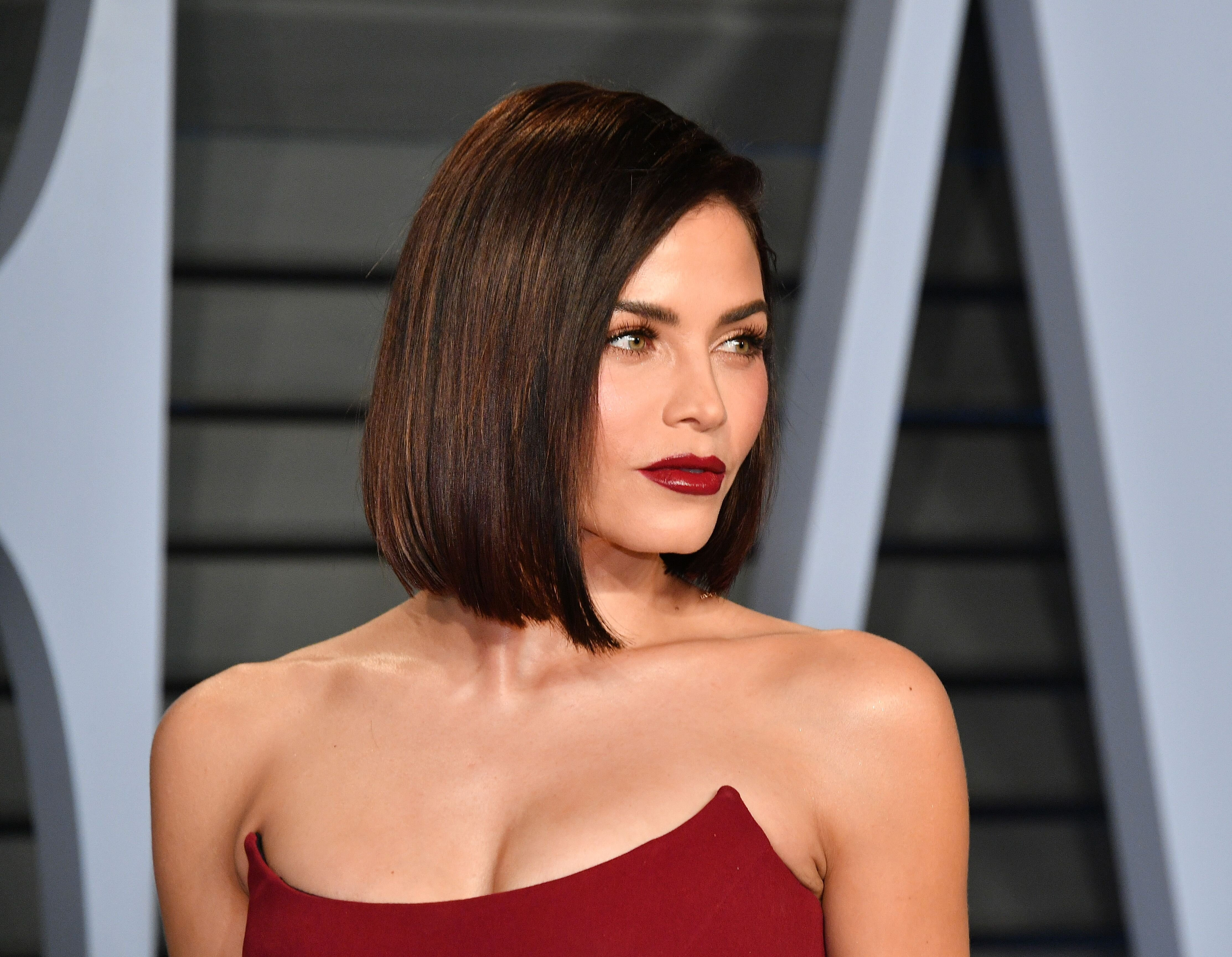 Jenna Dewan at the Vanity Fair Oscar Party at Wallis Annenberg Center for the Performing Arts on March 4, 2018, in Beverly Hills, California | Photo: Dia Dipasupil/Getty Images