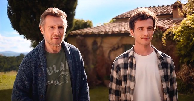 First Glimpse at Liam Neeson's New Movie Featuring Real Son Micheal (Video)