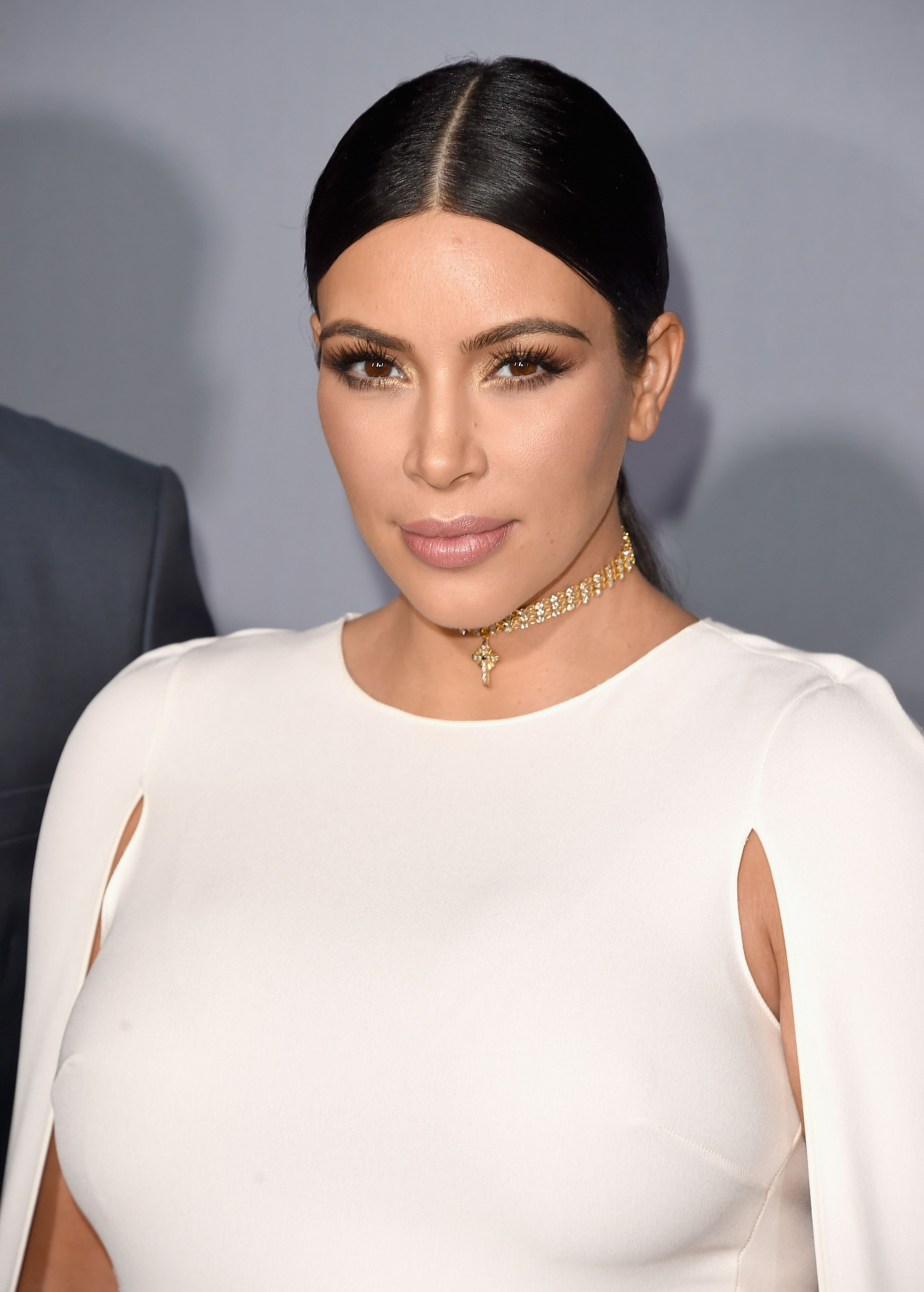 Kim Kardashian at the InStyle Awards at Getty Center on October 26, 2015 in Los Angeles, California | Photo: Getty Images