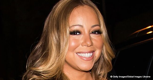 Mariah Carey flaunts new weight-loss figure in body-hugging dress