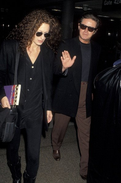Don Henley and Sharon Summerall on April 19, 1993 at Los Angeles International Airport in Los Angeles, California. | Photo: Getty Images