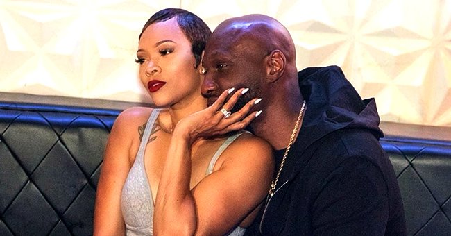Lamar Odom's Fiancée Sabrina Parr Shows Plenty of Skin in Skimpy Outfit in a PDA-Filled Photo