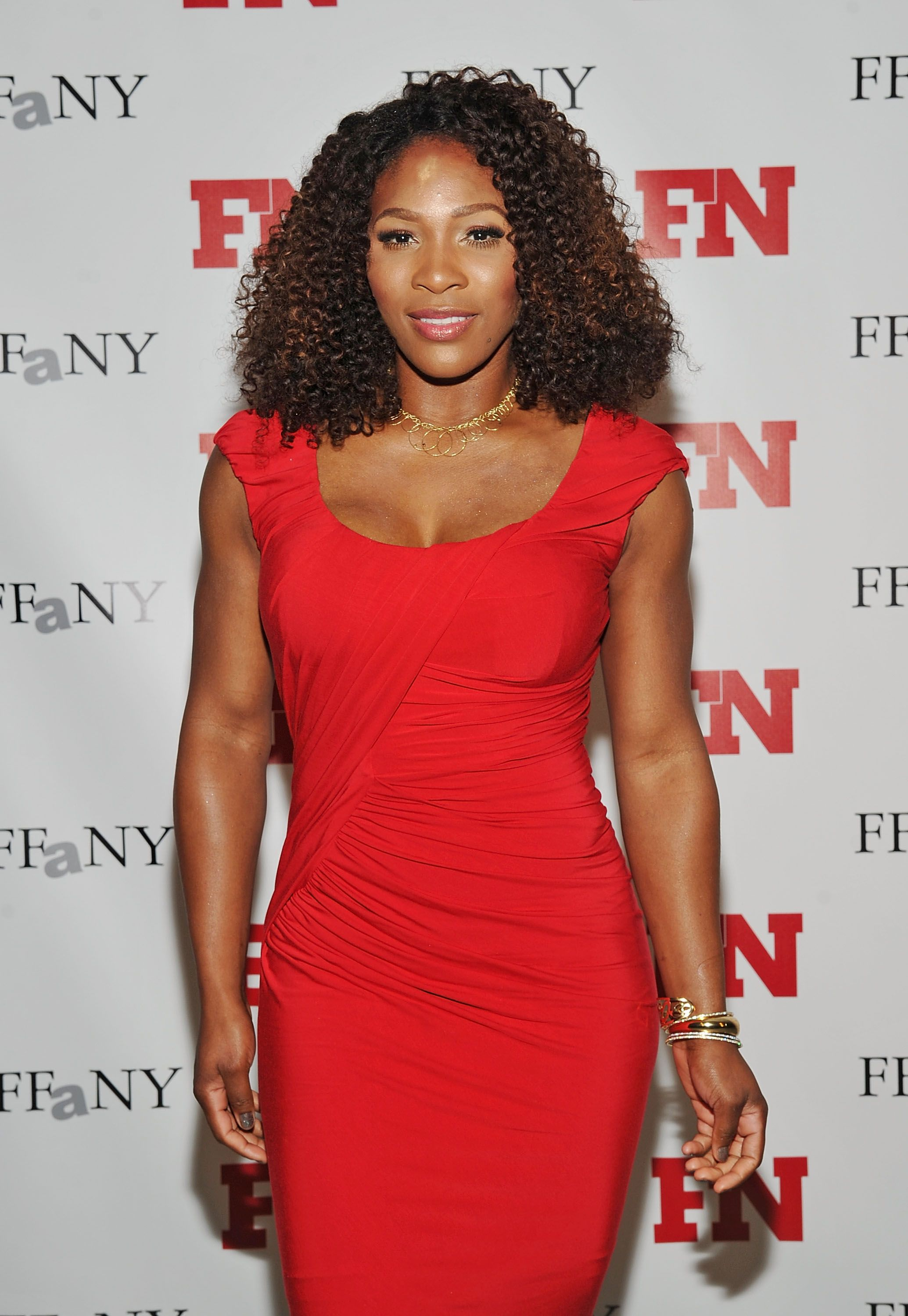 Serena Williams during the 25th Annual Footwear News Achievement Awards at the Museum of Modern Art on November 29, 2011 in New York City. | Source: Getty Images