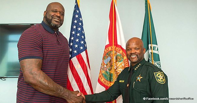 Shaquille O'Neal Becomes Newest Auxiliary Deputy with Broward County Sheriff's Office, Florida