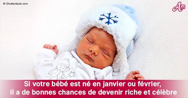 Observation: les bébés nés en janvier ou en février ont plus de chances de devenir riches et célèbres